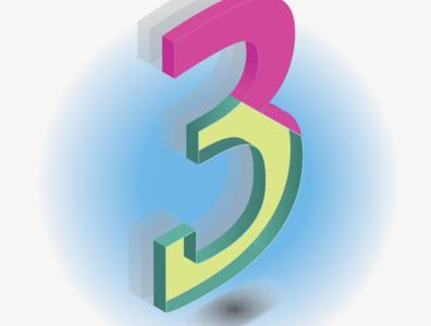 Isometric number 3
