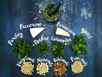 Facebook post for pesto ideas-Jamie Oliver