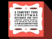 Instagram invite for Jamie Oliver book launch
