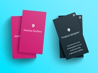 Business card-Product designer