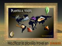 Travel Blogger Template