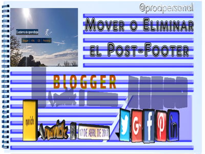 Remove Post Footer From Blogger