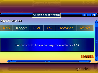 Custom Scrollbar With CSS