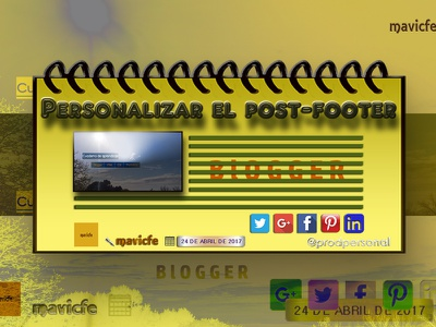 Blogger Post Footer footer post footer illustration graphic design gadget html css composition yellow color blogger design blog design web design blog article infographic prodpersonal mavicfe photoshop