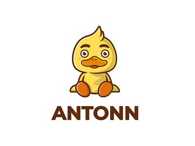 Duck Mascot illustrator logo vector artwork illustration