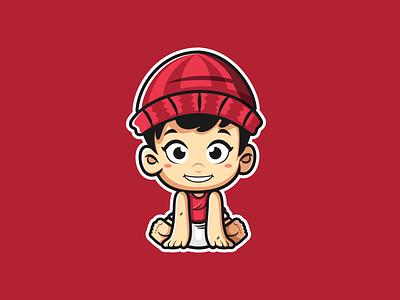 Baby Bunnie illustrator vector logo illustration artwork