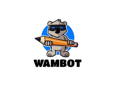 Cyborg Koala branding vector illustrator artwork logo