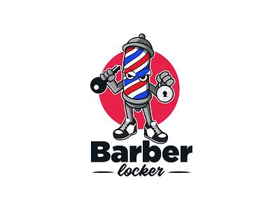 Mascot Design for Barbershop design illustrator vector artwork illustration mascot logo mascot