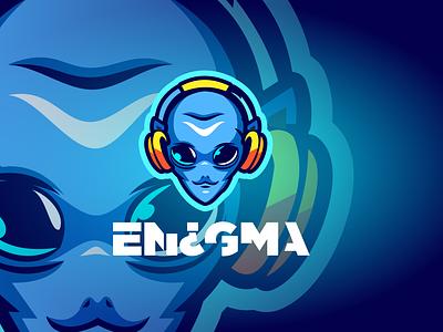 Gaming Logo vector logo mascot logo alien gaming esport logo