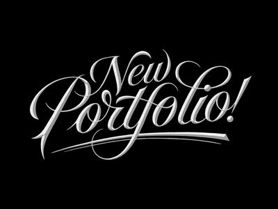 New portfolio!