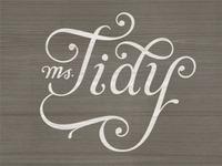 Ms. Tidy type