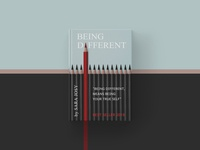 "Book cover ""Being different"""