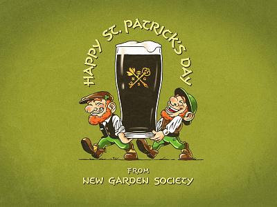 St. Patrick's Day / NGS fun st.patric celebration beer design illustration irish