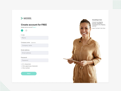 Sign up process UI with Protopie 5.0 icon typography app clean ui design protopie5.0 illustration interface ux branding ui