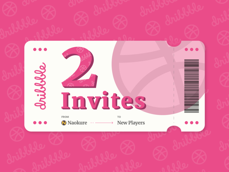 2020 dribbble Invites give away! players ux ui dribbble best shot dribbble invitation best shot invite giveaway dribbble invite player