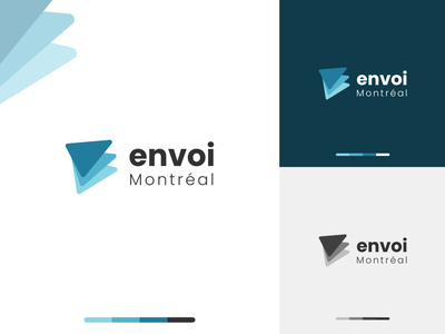 Logo design project for city of Montreal flat minimal icon shipping logo adobe xd clean ui branding illustration ui