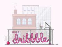 Let's dribbble!