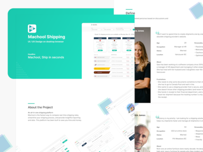 Shipping application UX case study