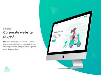 Corporate website project