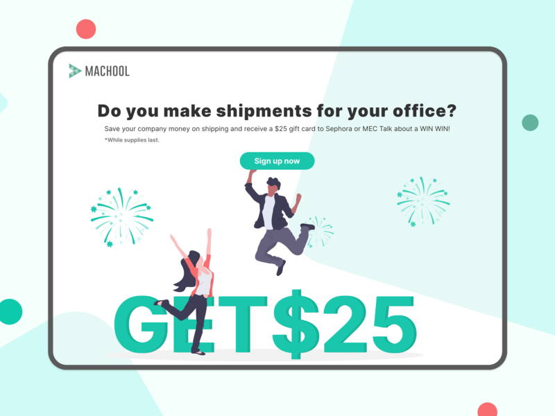 Campaign Landing page for Admin people