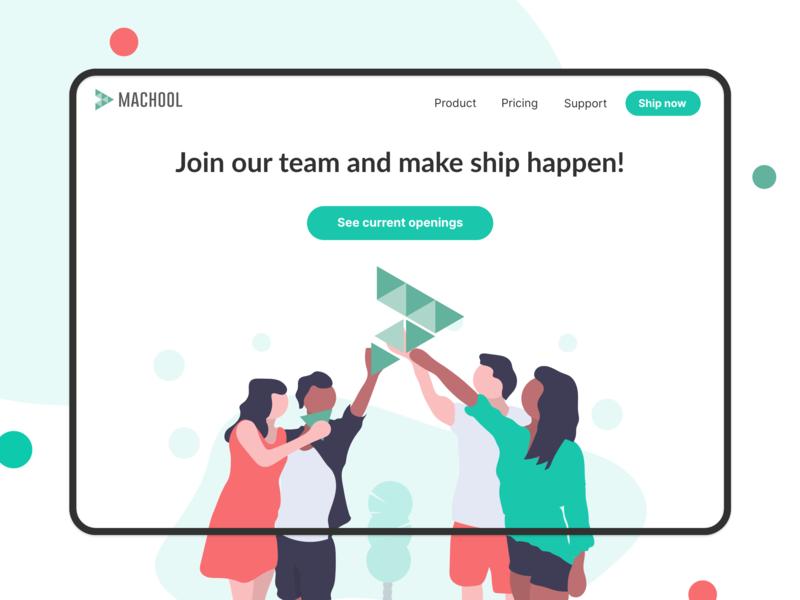 Website Career page design