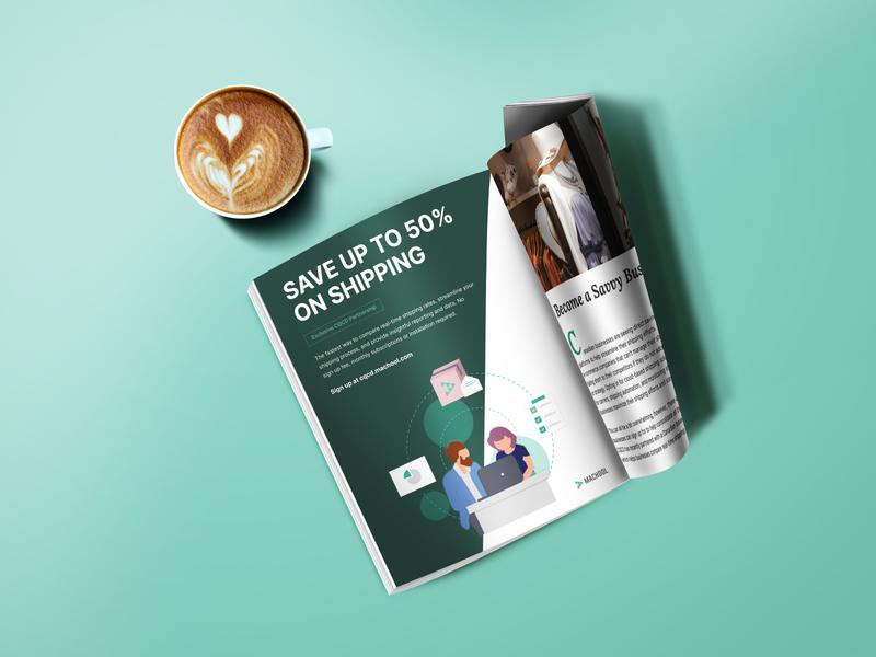 CQCD magazine ads
