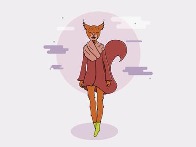 Miss Red Squirrel