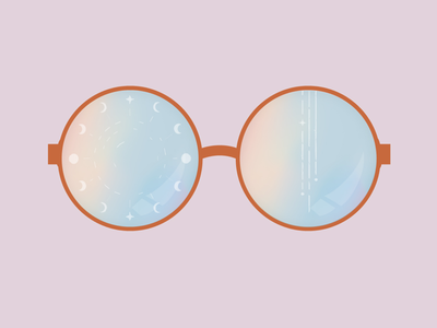 See the universe through rainbow colored glasses.