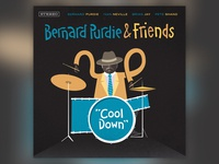 Bernard Purdie & Friends - Album Cover Design