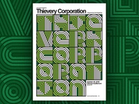 Thievery Corporation poster design