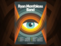 Ryan Montbleau Band - poster design