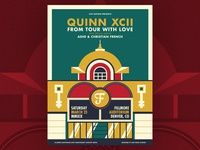 Quinn XCII - Fillmore Denver Poster