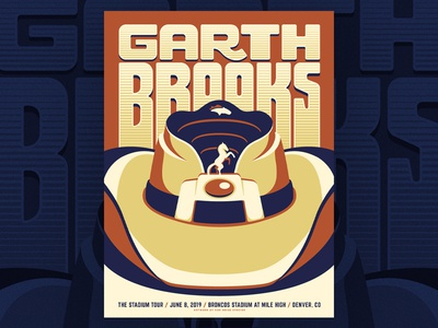 Garth Brooks - Broncos Stadium at Mile High