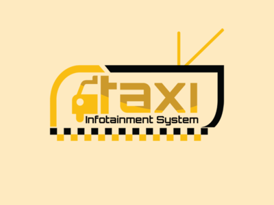 Taxi Logo - TAG Management LLC - USA icon typography vector minimal logo design character art after affects logo mark construction company style guide color palette branding project brand book illustration branding beautiful logo logo branding design logo design concept tagmanagementllc illustrated logo design