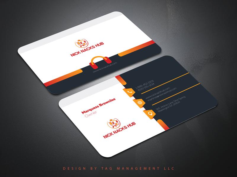 New Business Card Design   Tag Management LLC