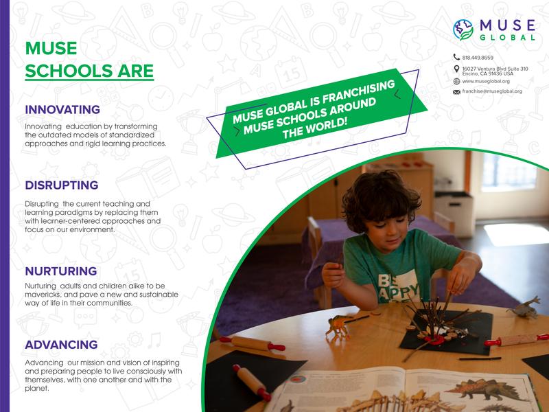Post Card Design - Group of Schools - TAG Management LLC