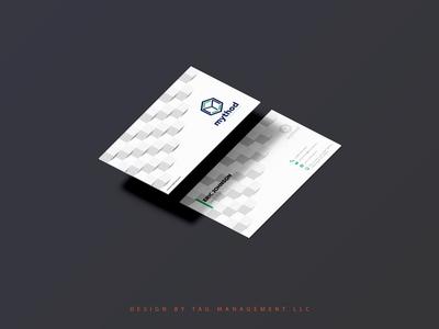 Creative Pattern - Business Card Design - TAG Management LLC