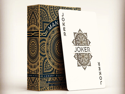 Mandala Playing Cards