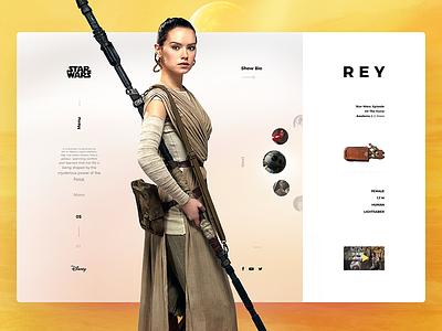 Day14 — Star Wars interface starwars concept dailyui ui ux