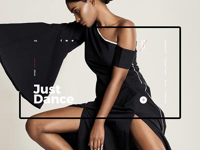 JustDance kvpavlov uiux interface webdesign ux design ui