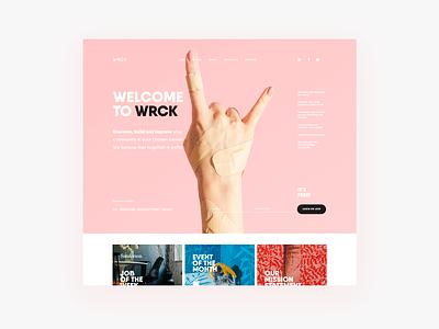 wrck kirpavlov interface design ux ui