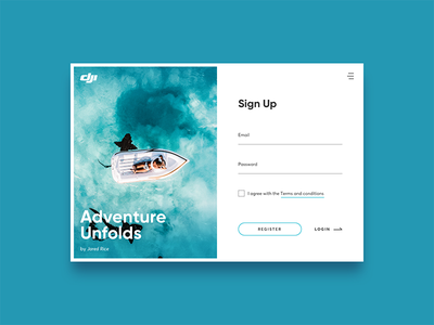 Sign Up Form drone ui signup