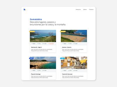 Tourist Tours App & Web UX/UI Design. web uiux tours tour app design webdesign tourism logo branding app