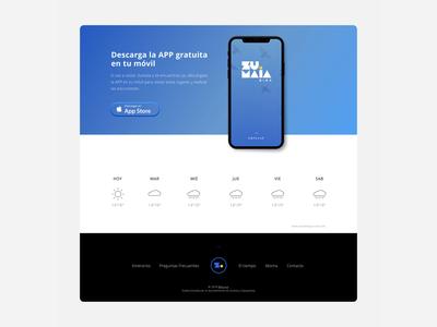 Tourist Tours App & Web UX/UI Design.
