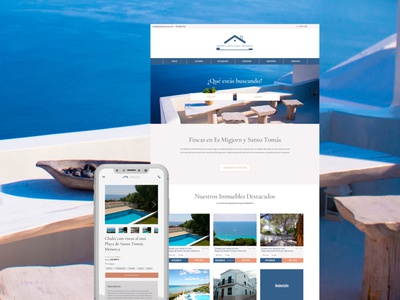 Real Estate Web Responsive Design tourism ui design real estate web webdesign
