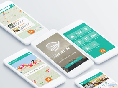 """""""Travel Without Noise"""" app idea and design tours web uiux tourism logo branding app design app webdesign"""