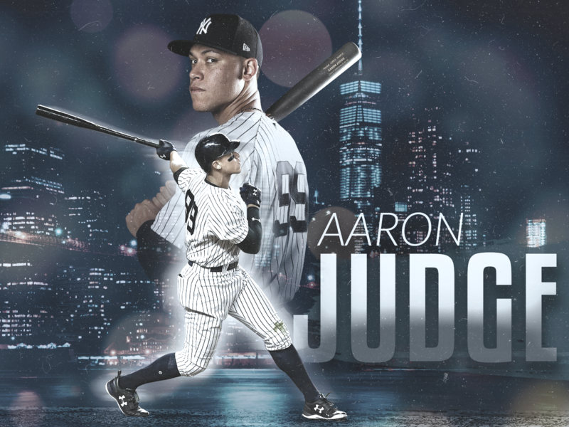 Aaron Judge new yorker hdr toning hdr yankees new york city new york yankees new york design lightroom sports sports edit photoshop