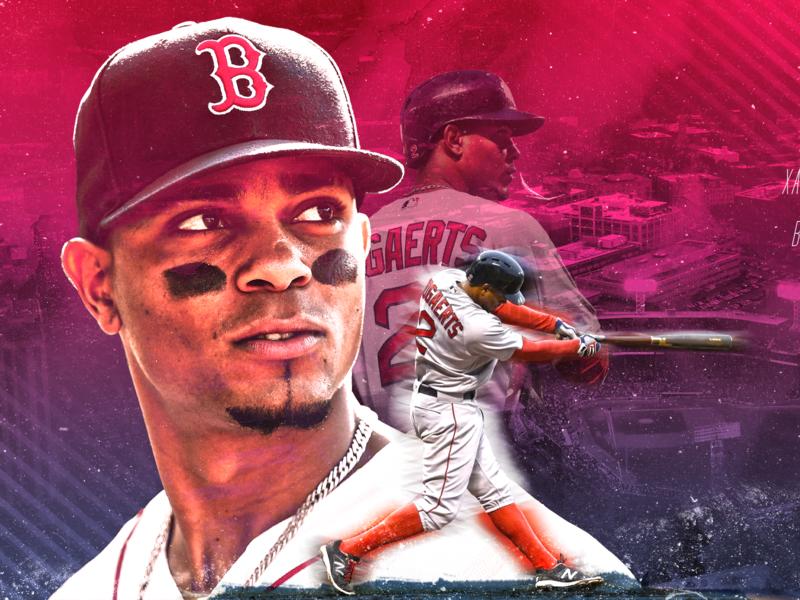 Xander Bogaerts fenway boston red sox boston red sox bright lightroom sports edit sports fanart photoshop design