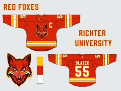 Fictional Hockey Jersey design sports sports edit branding illustration illustrator