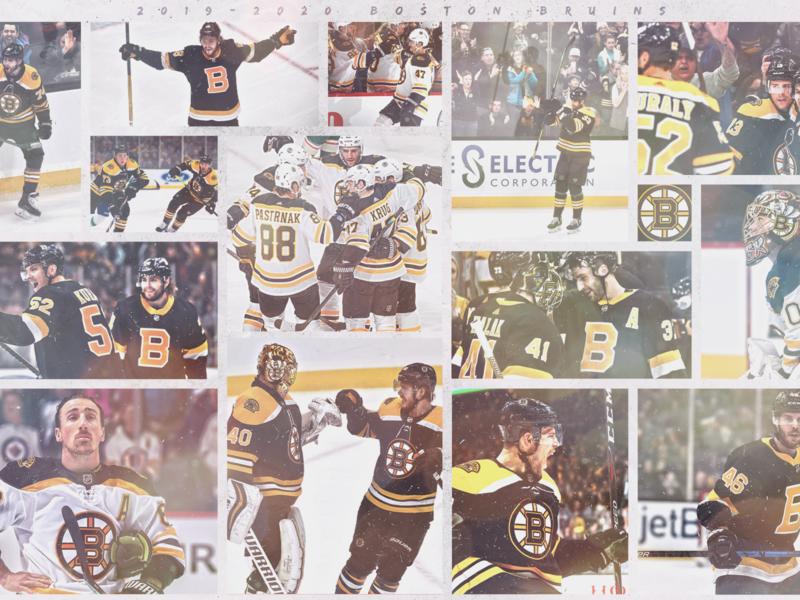 2019-2020 Boston Bruins lightroom hockey boston bruins sports edit sports photoshop fanart design